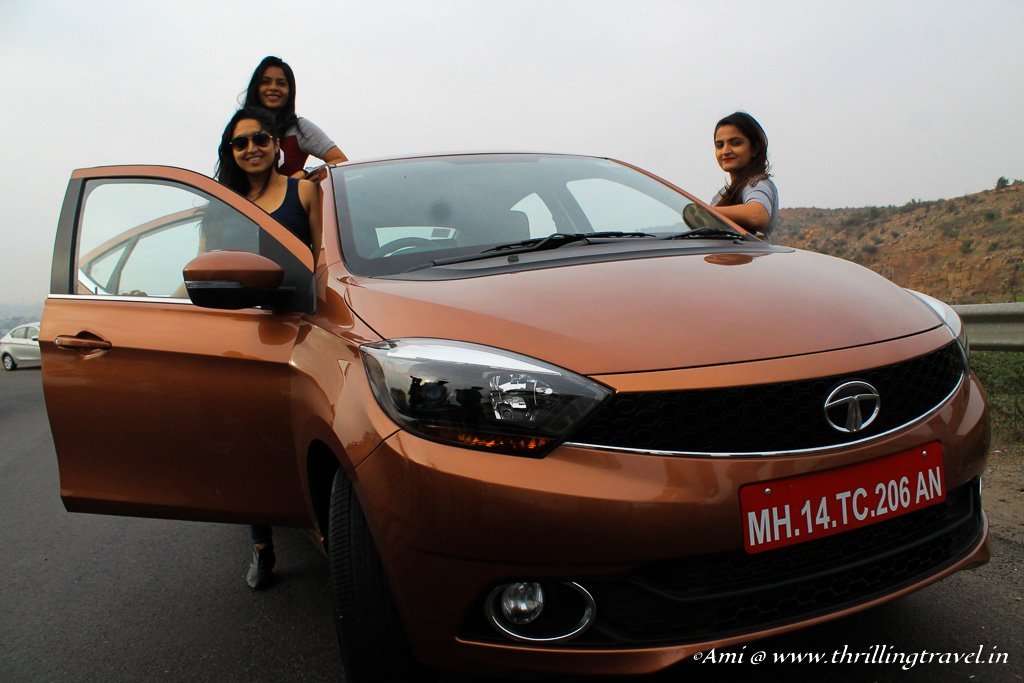 An All Girls Road Trip with Tata Tigor