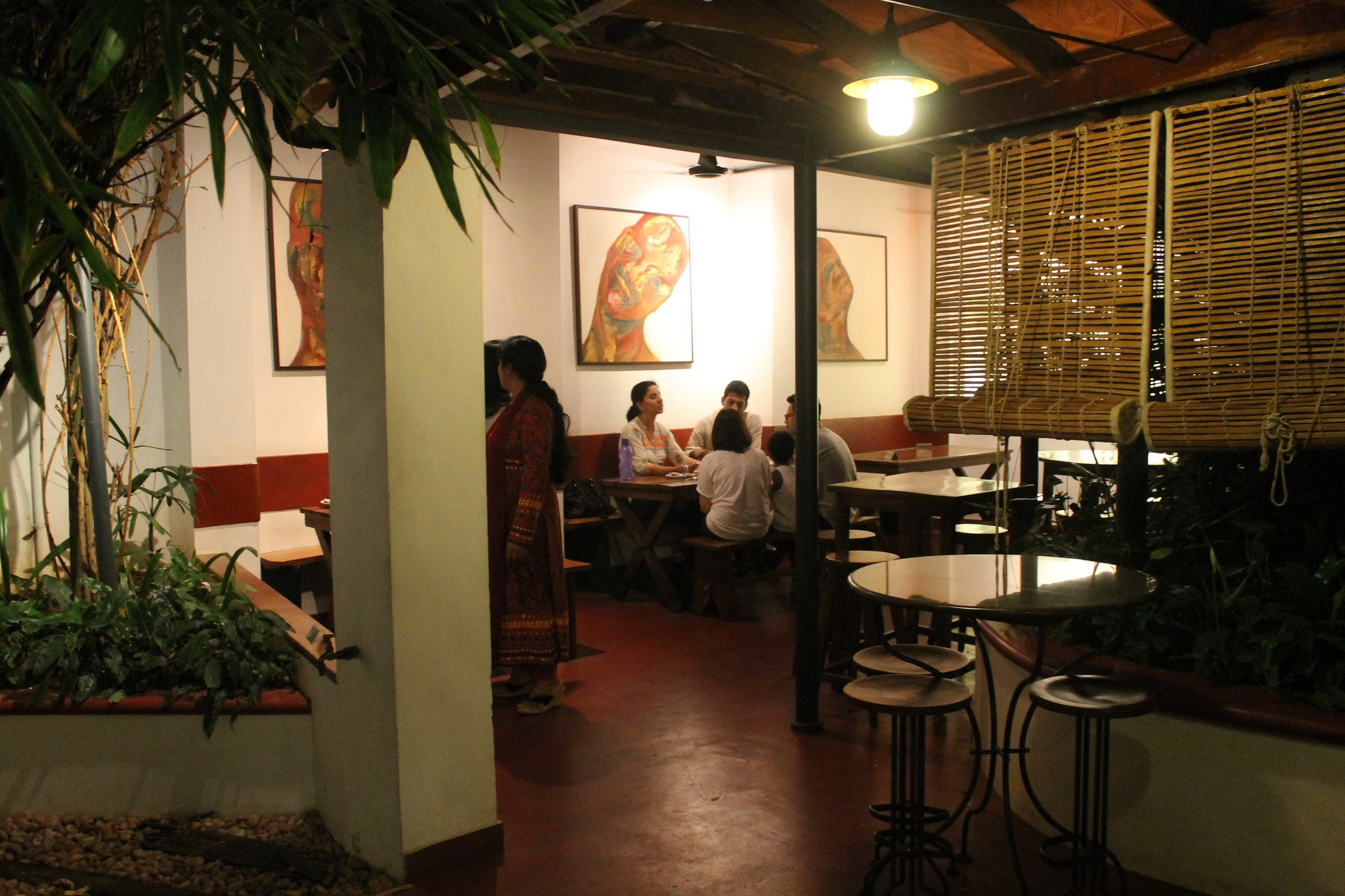 Kashi Art Cafe in Fort Kochi