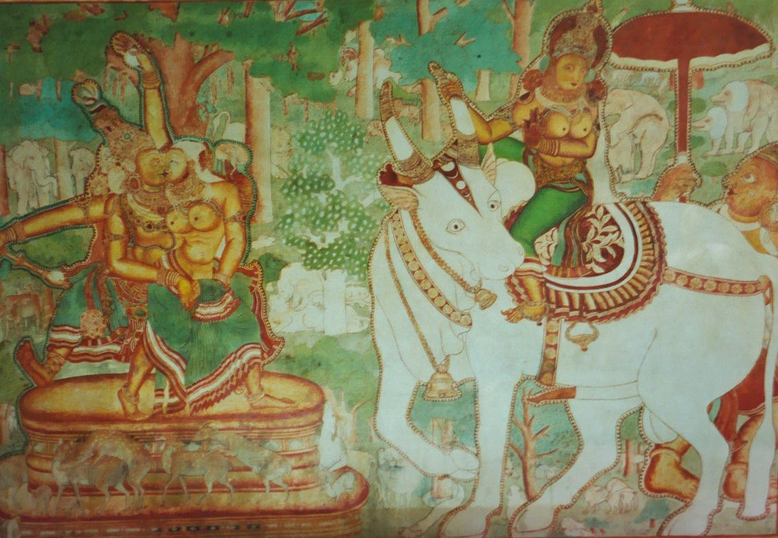 Murals within the Mattancherry Palace, Fort Kochi
