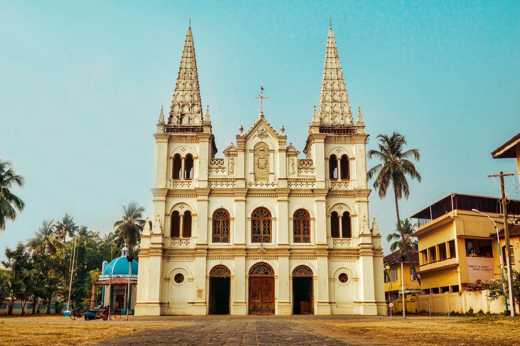Santa Cruz Church in Fort Kochi.