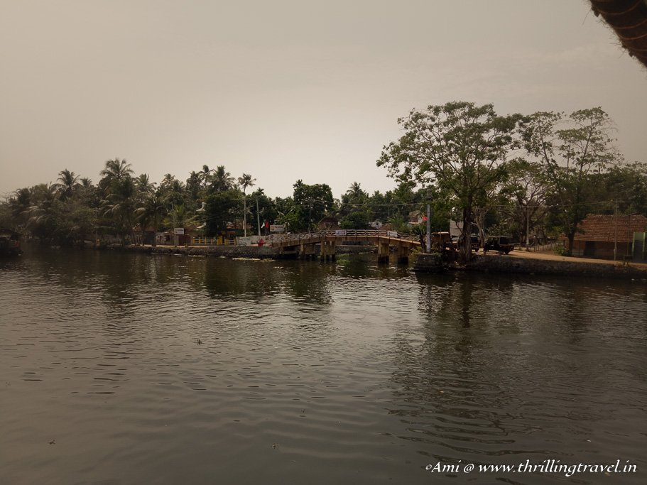 The little Venetian touch to the Venice of the East - Alleppey