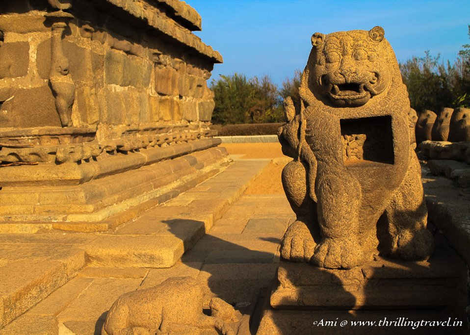 The Durga Shrine at the Shore Temple Mahabalipuram