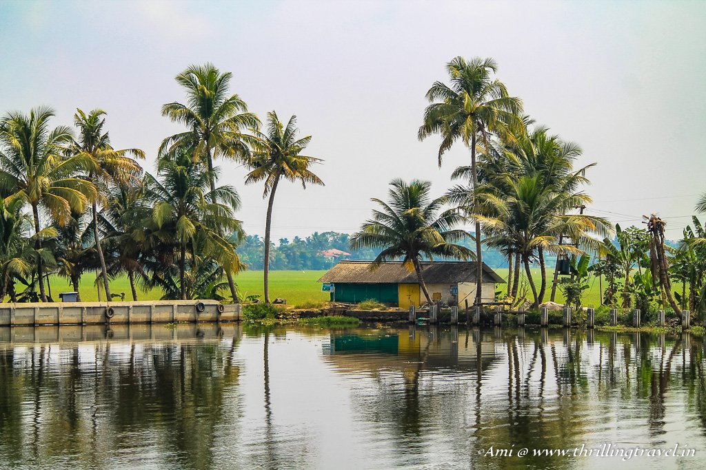 Our homes in the Backwaters of Kerala