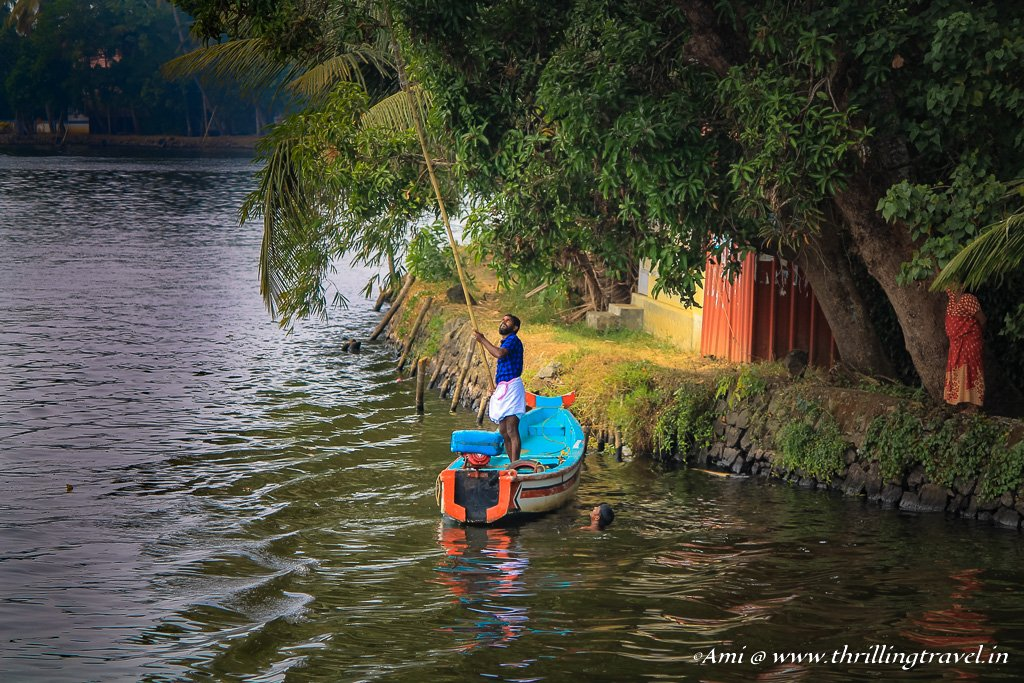 Life in the backwaters of Kerala