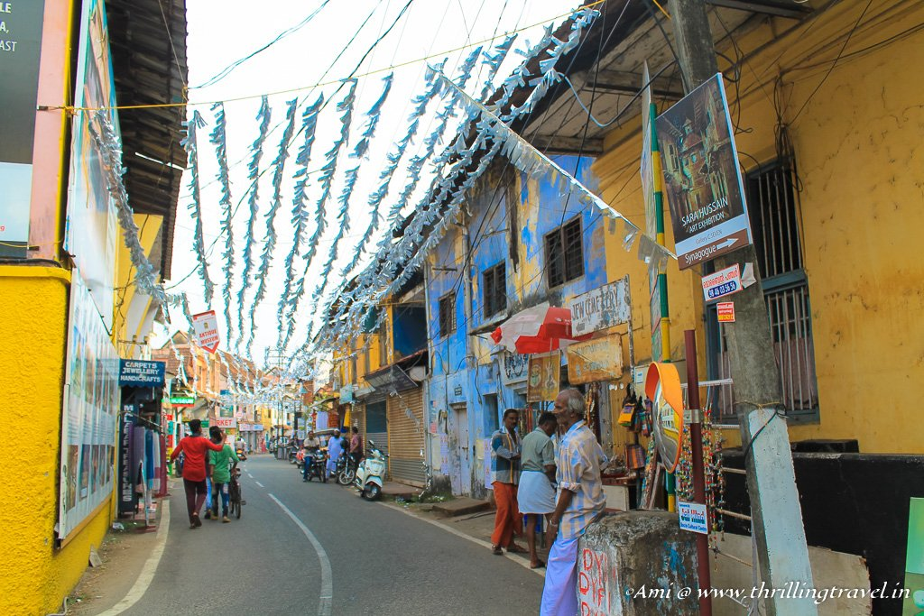 Jew Town in Fort Kochi