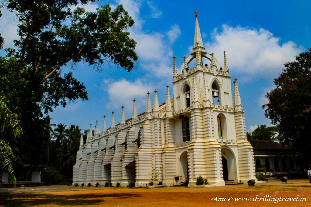 Mae De Deus Church, Saligao, Goa