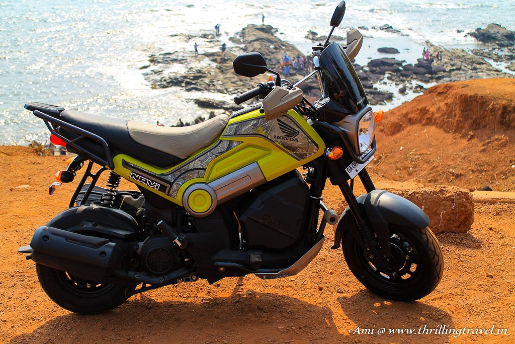 Honda Navi - my lovely companion on the Goa Hunt