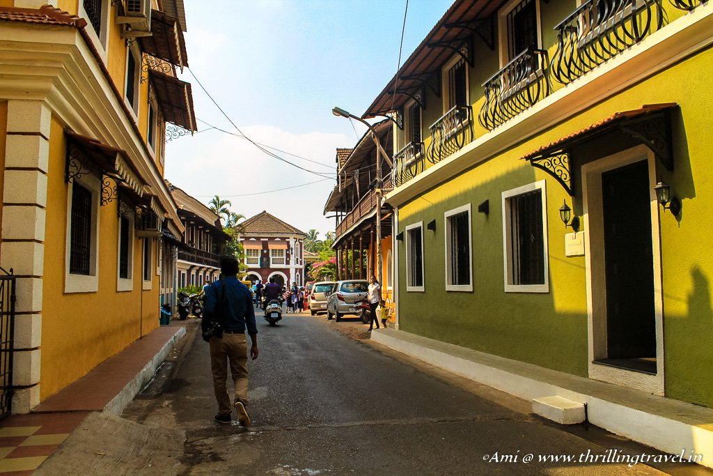 The most colorful task of Goa Hunt - a walk through Fontainhas