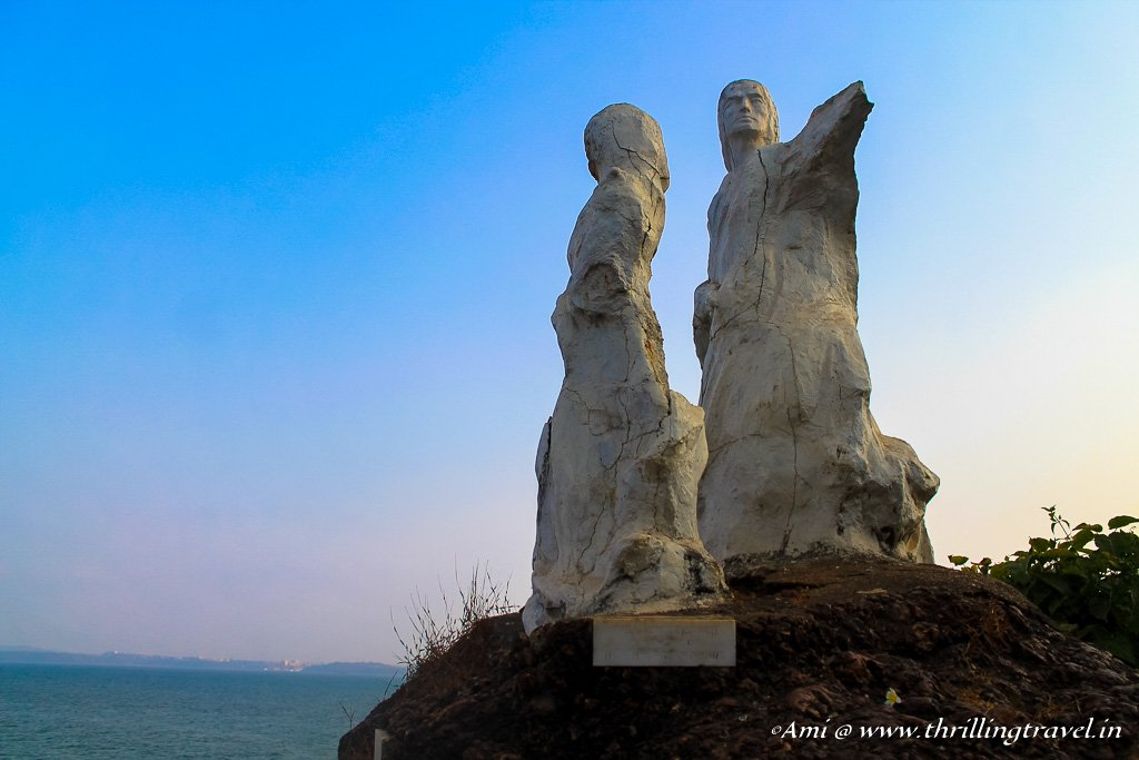 The famous statue of Dona Paula