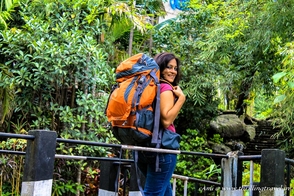 My first trip with my new Wildcraft rucksack