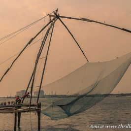 The Chinese Fishing Nets at Fort Kochi