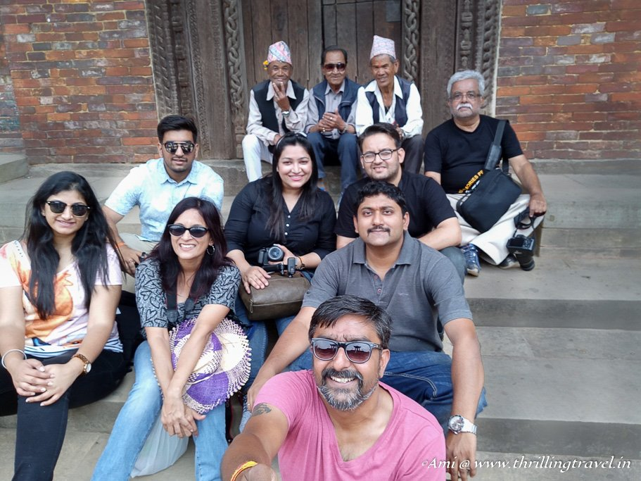 My Comrades on the Indo-Nepal Trip
