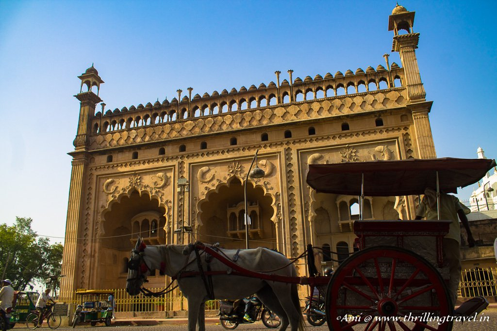 Lucknow, one of our destinations along the Indo-Nepal road trip