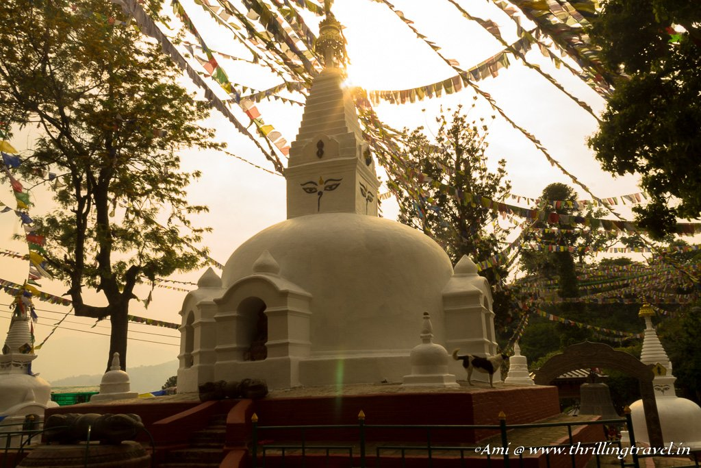 Mini Stupa within the Swayambhunath temple