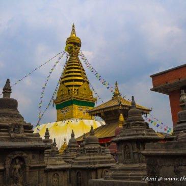 Exploring the Swayambhunath Temple in Kathmandu