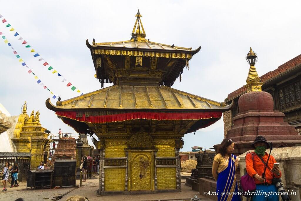 Hariti temple at Swayambhunath