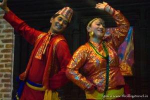 A cultural evening in Kathmandu