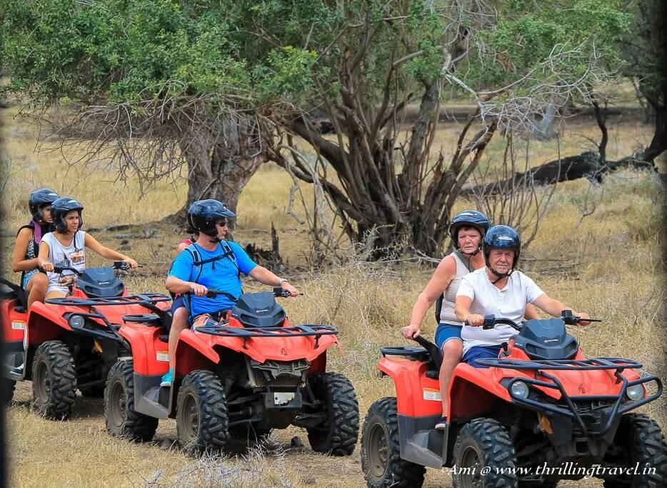 Quad Bike Safari at Casela Nature Park