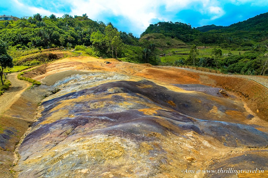The 23 colors of the earth at La Vallee Des Couleurs, Mauritius