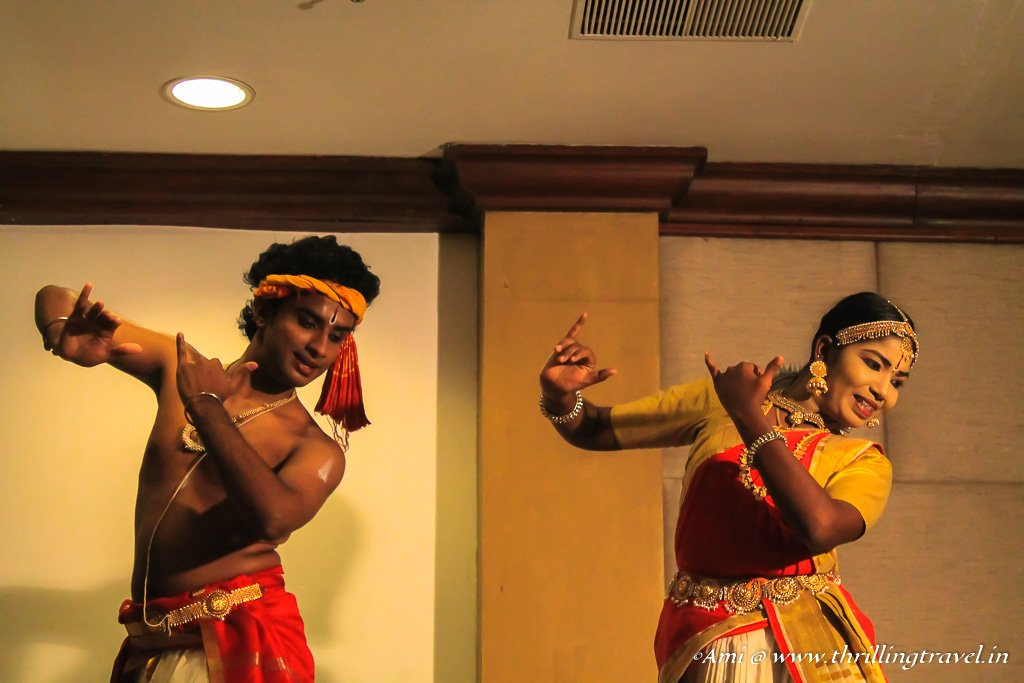 Bharat Natyam Performance at Kovalam