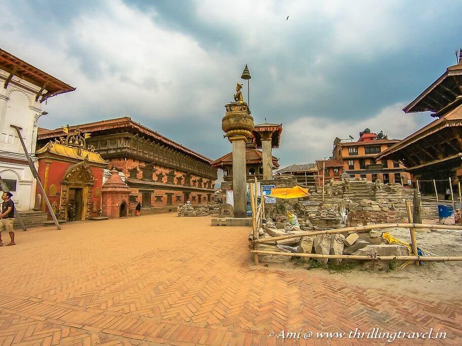 Bhaktapur Durbar Square in Kathmandu