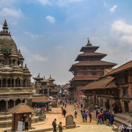 Bird's eye view of Patan Durbar Square