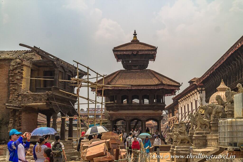 Chyasalin Mandap of Bhaktapur Durbar Square