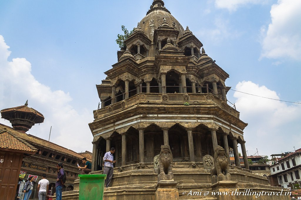 Chyasin Dewal - the first temple attraction of Patan Square
