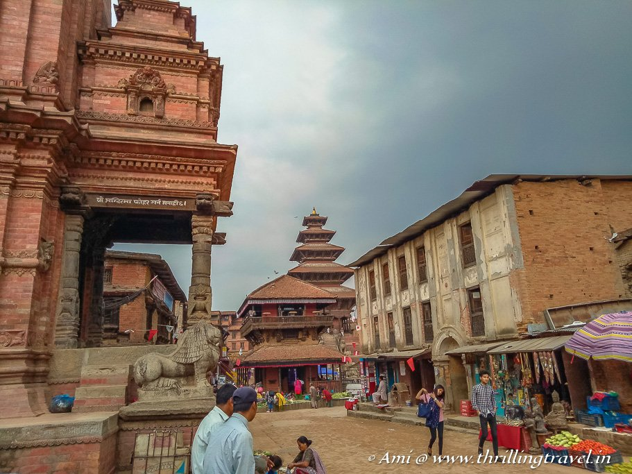 The numerous temples in the City of Devotees - Bhaktapur Durbar Square