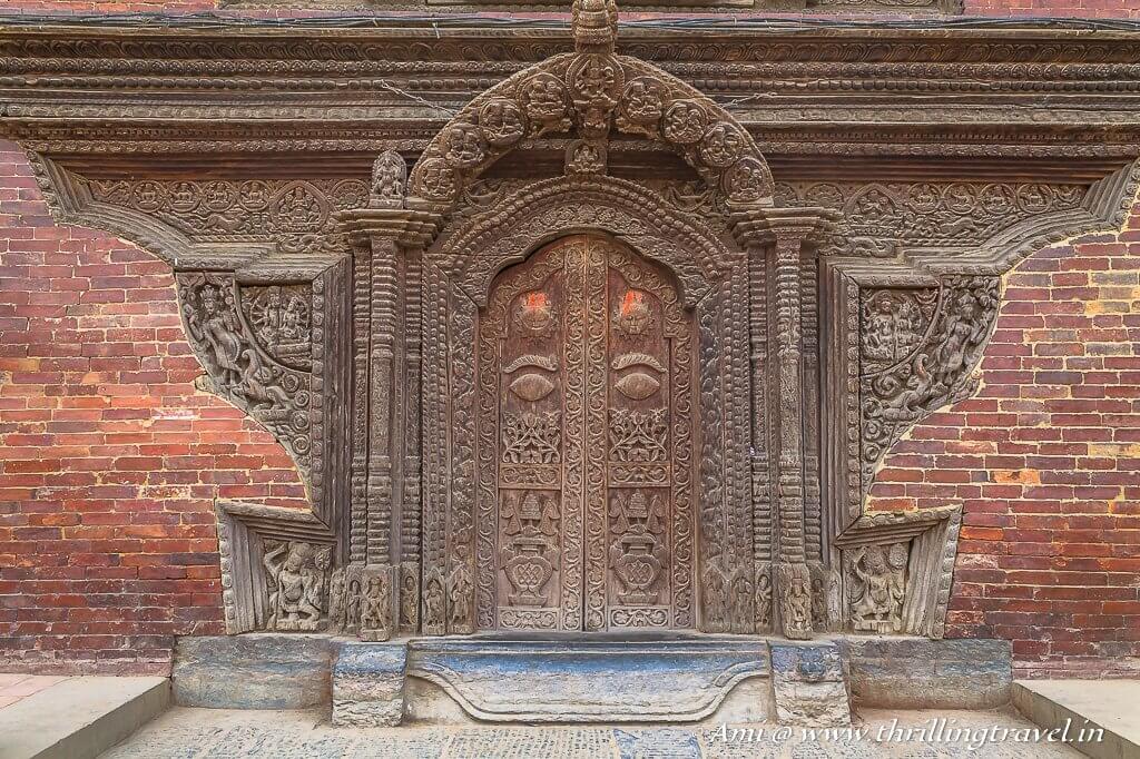 Gateway to Sundari Chowk, Patan