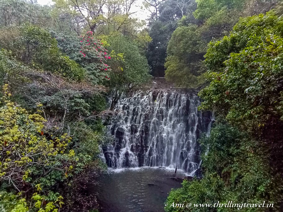 First of the Meghalaya Waterfalls - Elephant falls in Shillong