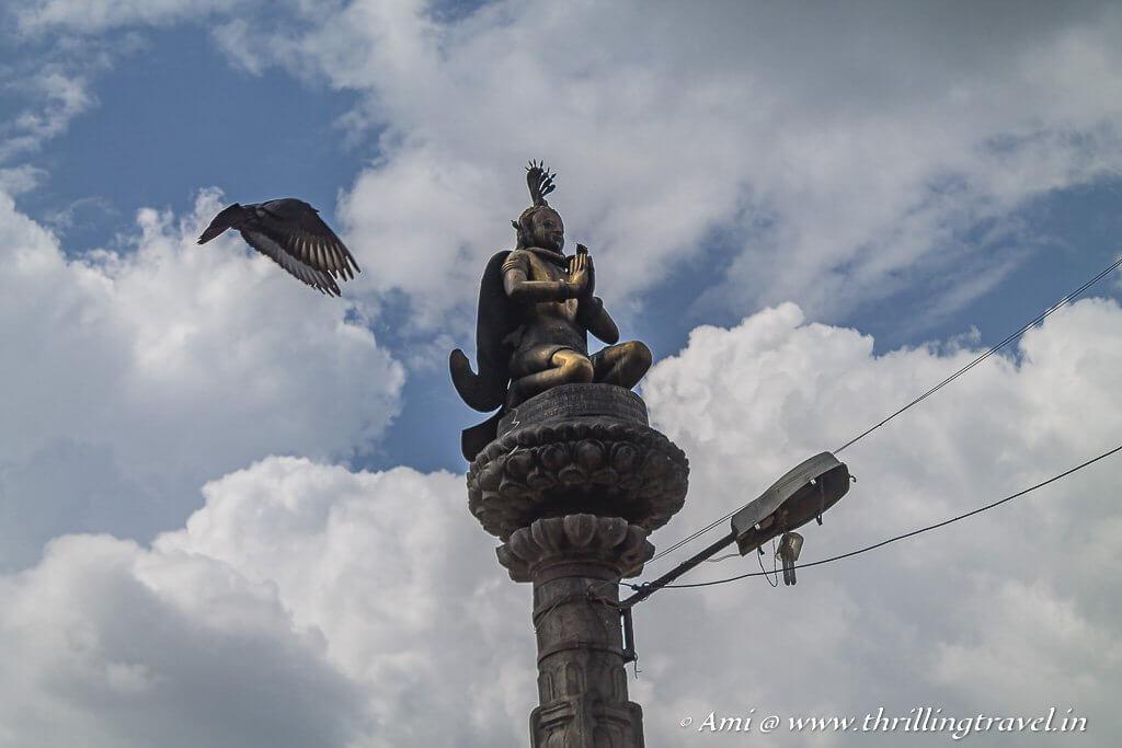 Close-up of the Garuda Statue