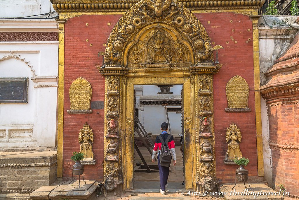 The Golden Gate of Bhaktapur Durbar Square