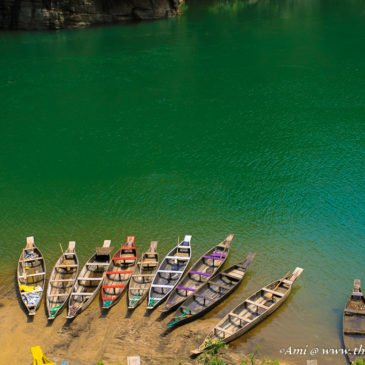 Visiting Fairyland on Umngot River in Dawki, Meghalaya