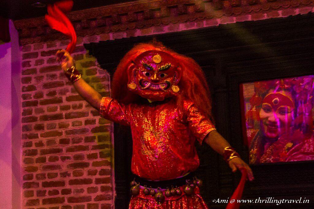 Lakhey Dance - generally, performed at Indra Jatra festival
