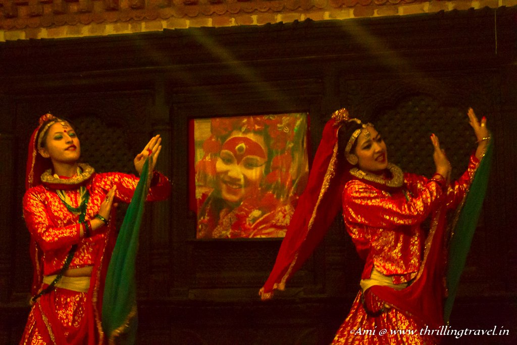 Maruni Dance - a Nepali dance to celebrate the equivalent of Diwali in Nepal