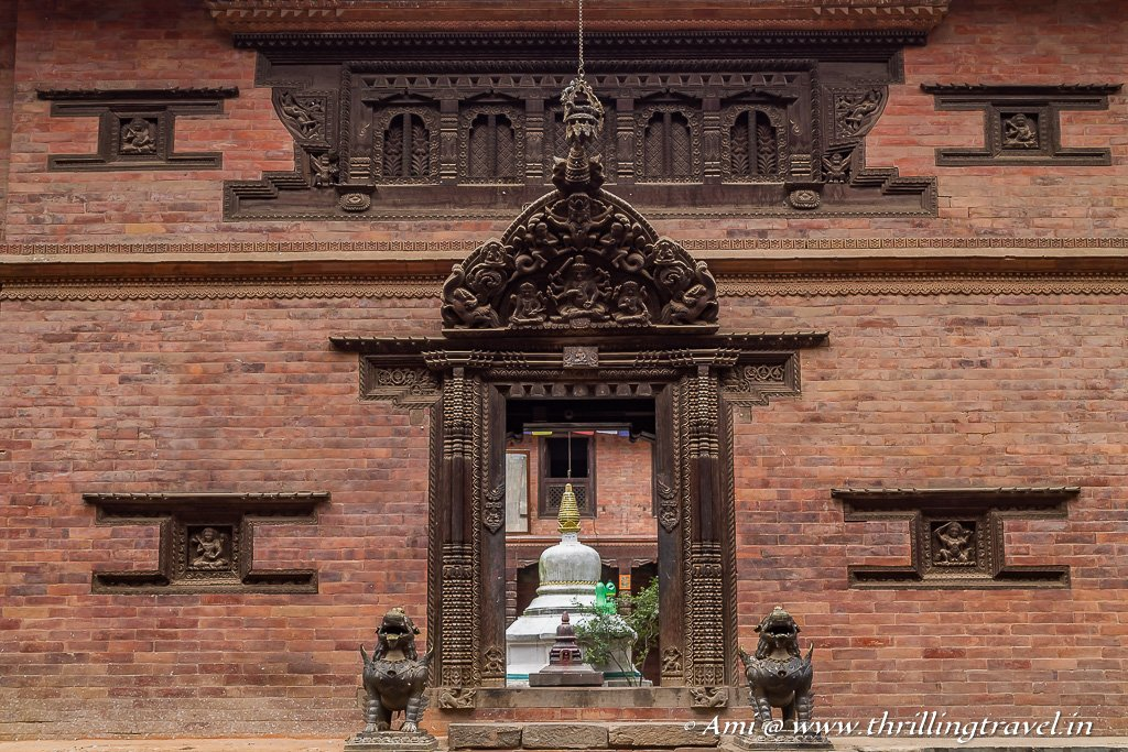 Unidentified monastery of Dattatreya Square