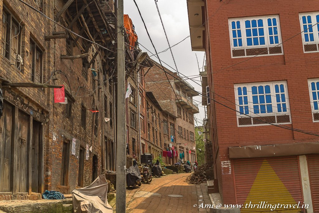 Route one past the Newari Homes