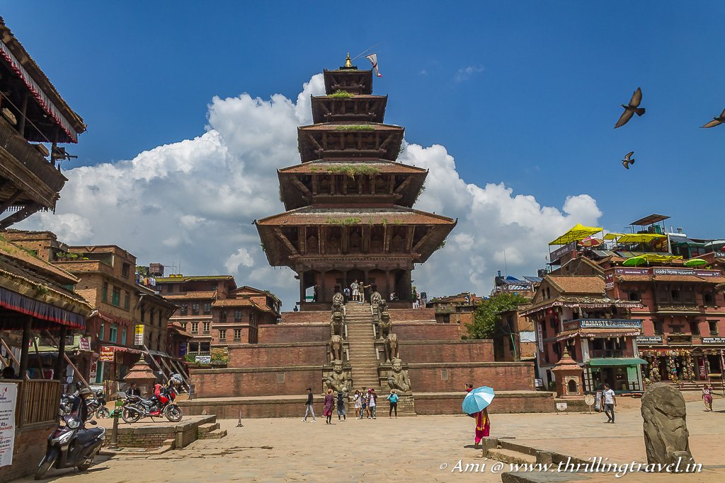 Nyatapol Deval - the tallest Temple in Nepal at Bhaktapur Durbar Square