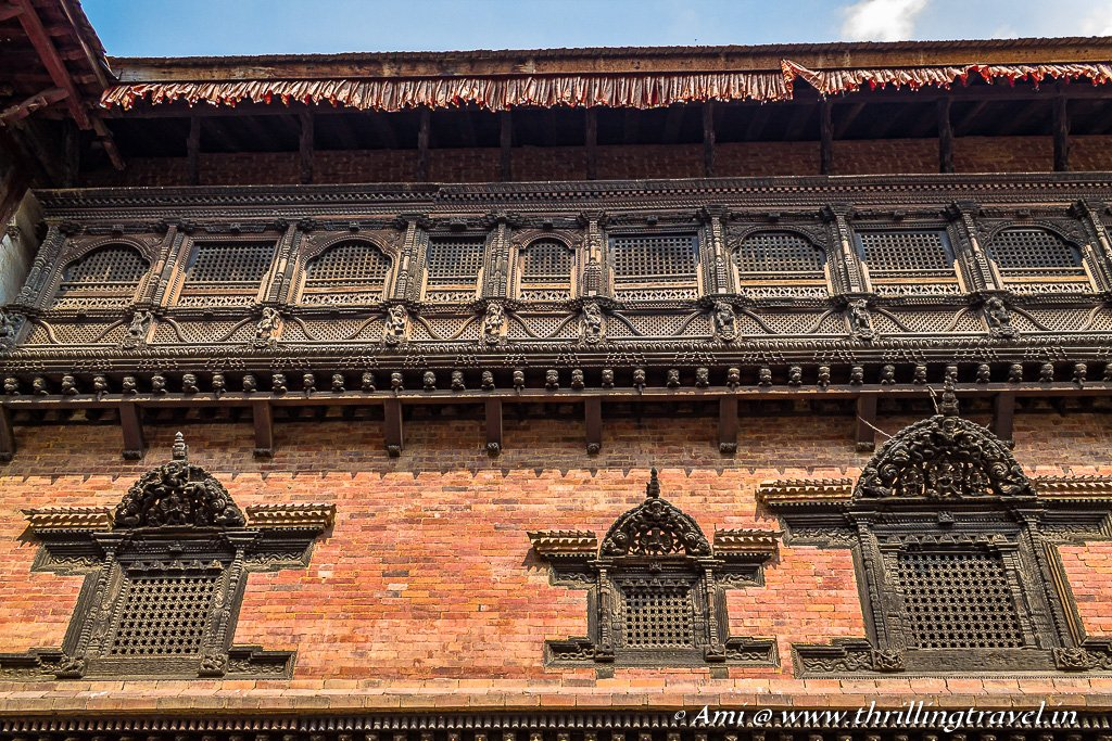 Pachpanna Jhyale Durbar or the 55 Windows Palace in Bhaktapur Durbar Square