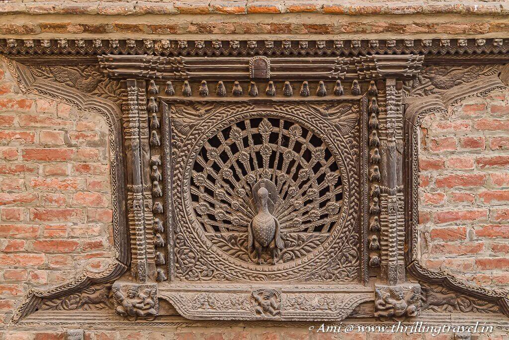 Peacock Window Bhaktapur - one of most treasured attraction of Kathmandu