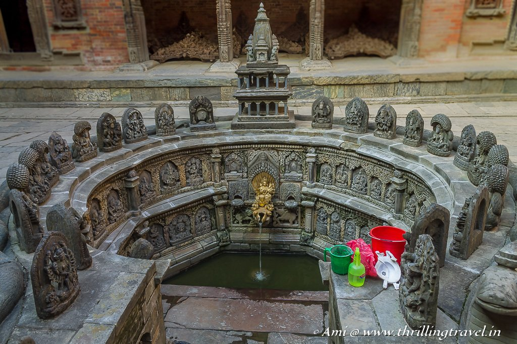 The carved step well of Sundari Chowk