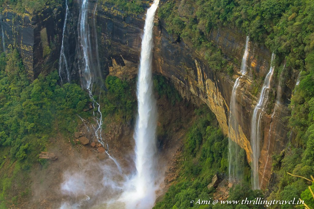 Plunge of Ka Likai - one of the highest plunge waterfalls in the world