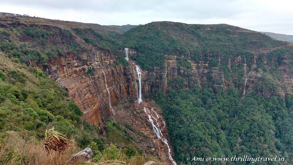 Wah Kaba Waterfalls in Cherrapunji
