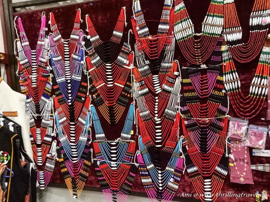 The beautiful Khasi necklaces