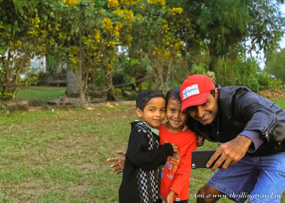 The friendly kids of Meghalaya