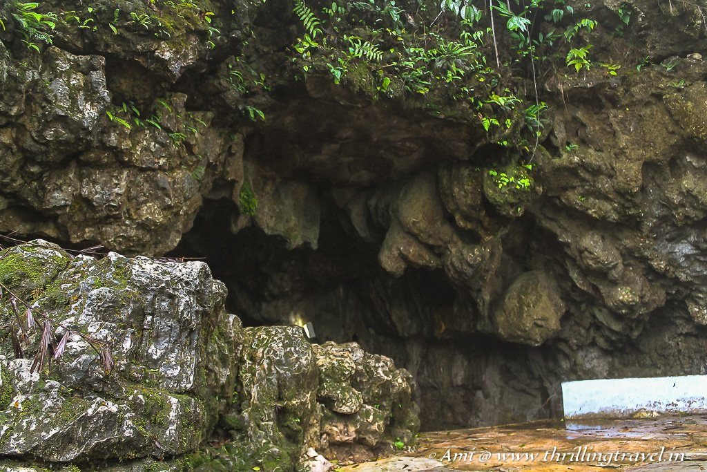The Open -Jaw like entrance that leads you inside Mawsmai Caves