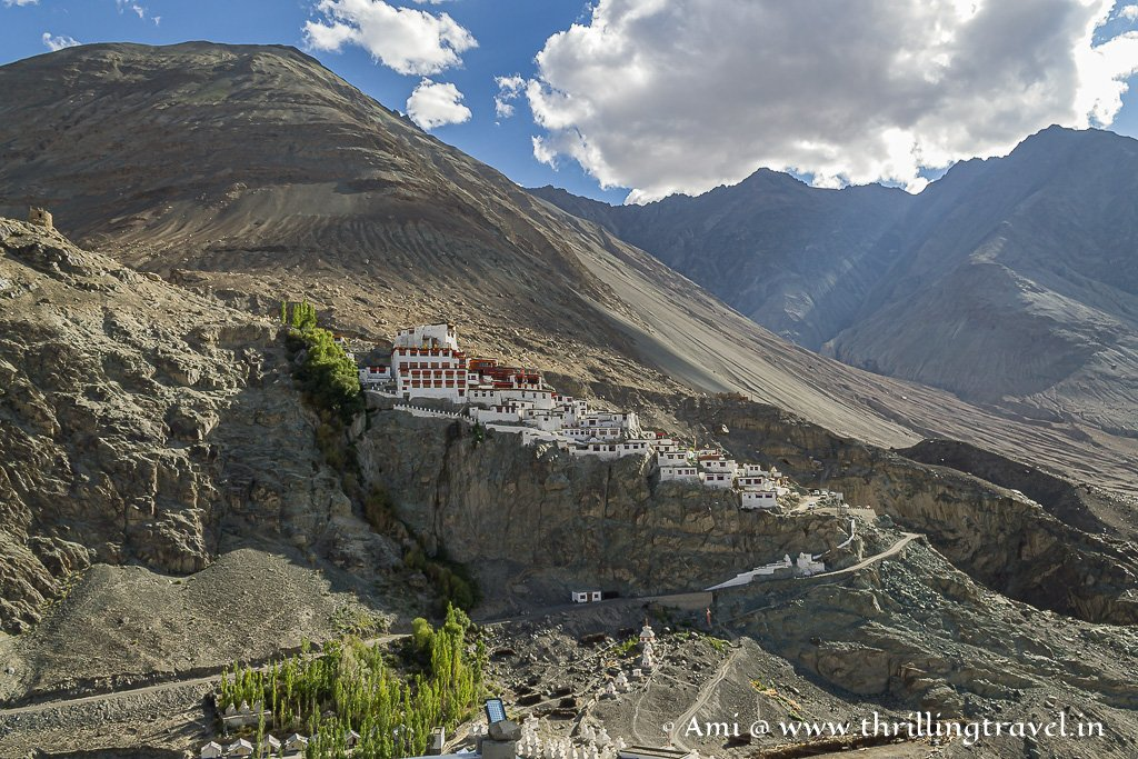 Diskit Monastery - the oldest living part of the Nubra Valley history