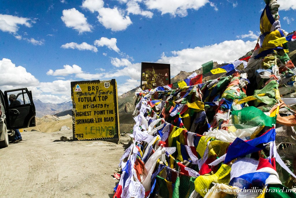 Fotu La - Our stop over before Lamayuru Monastery