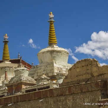 The calming vibes of Lamayuru Monastery in Ladakh